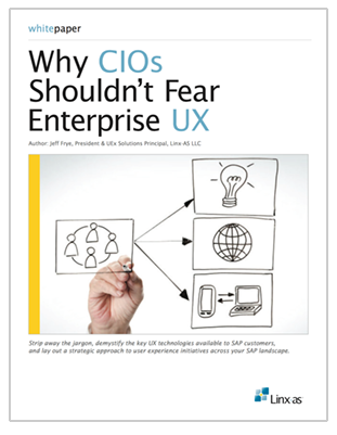 Why CIOs Shouldn't Fear Enterprise UX